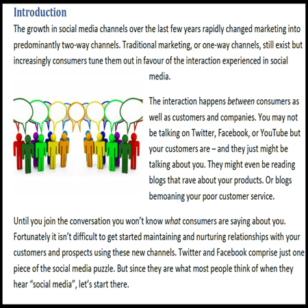 social white paper example